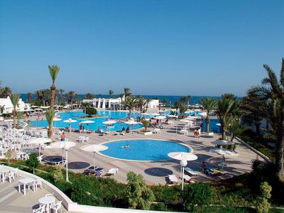 Un exemple de piscine à Djerba